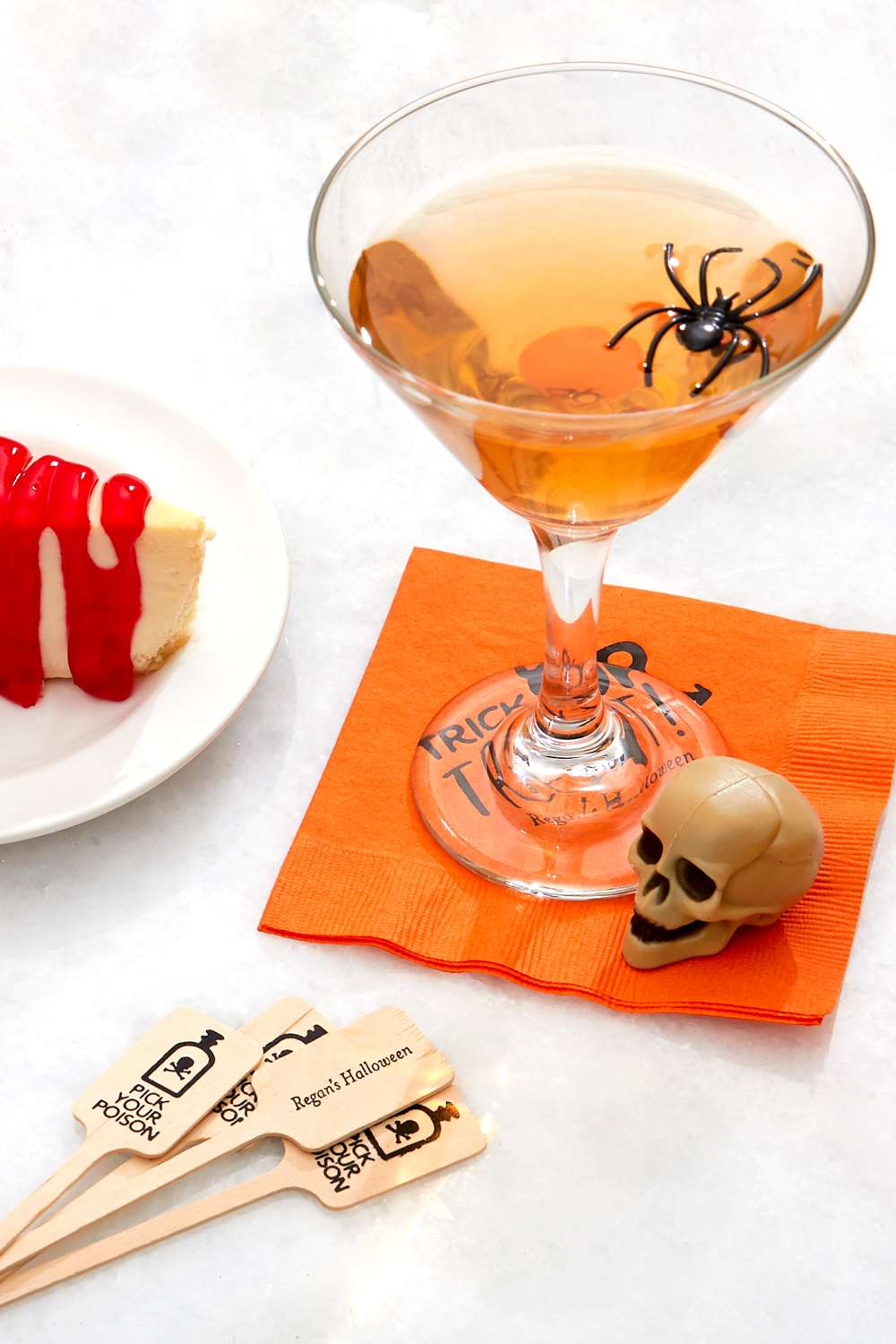 orange halloween cocktail ideas