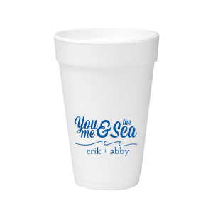 You, Me & The Sea Foam Cup
