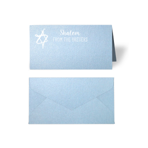 Star of David Place Card