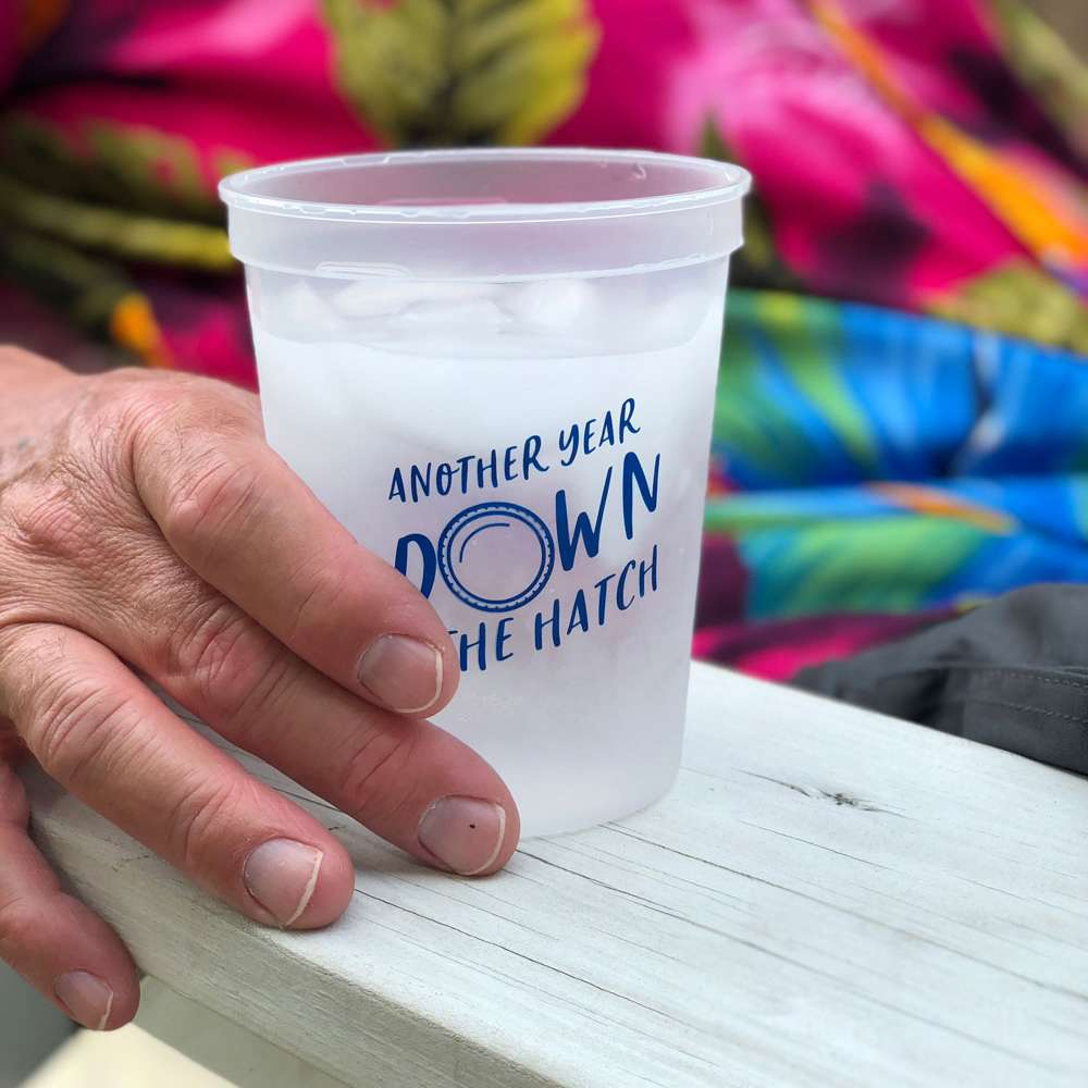 another year down the hatch party cups