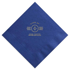 Roaring Twenties Graduation Napkin