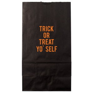 The ever-popular Black Party Bag with Matte Tangerine Foil are a must-have for your next event—whatever the celebration!