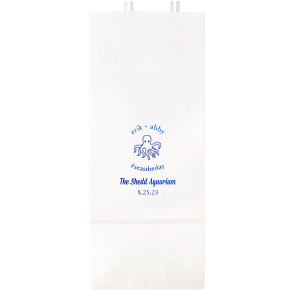 Our custom Shiny Turquoise Large Cellophane Bag with Shiny Turquoise Foil has a Octopus graphic and is good for use in Beach/Nautical, Animals, Kid Birthday themed parties and couldn't be more perfect. It's time to show off your impeccable taste.