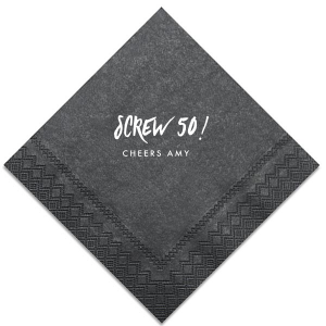 Screw 50! Napkin
