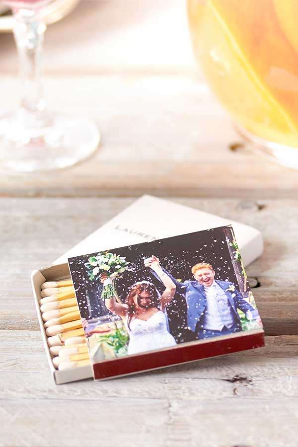 classic photo full color wedding match