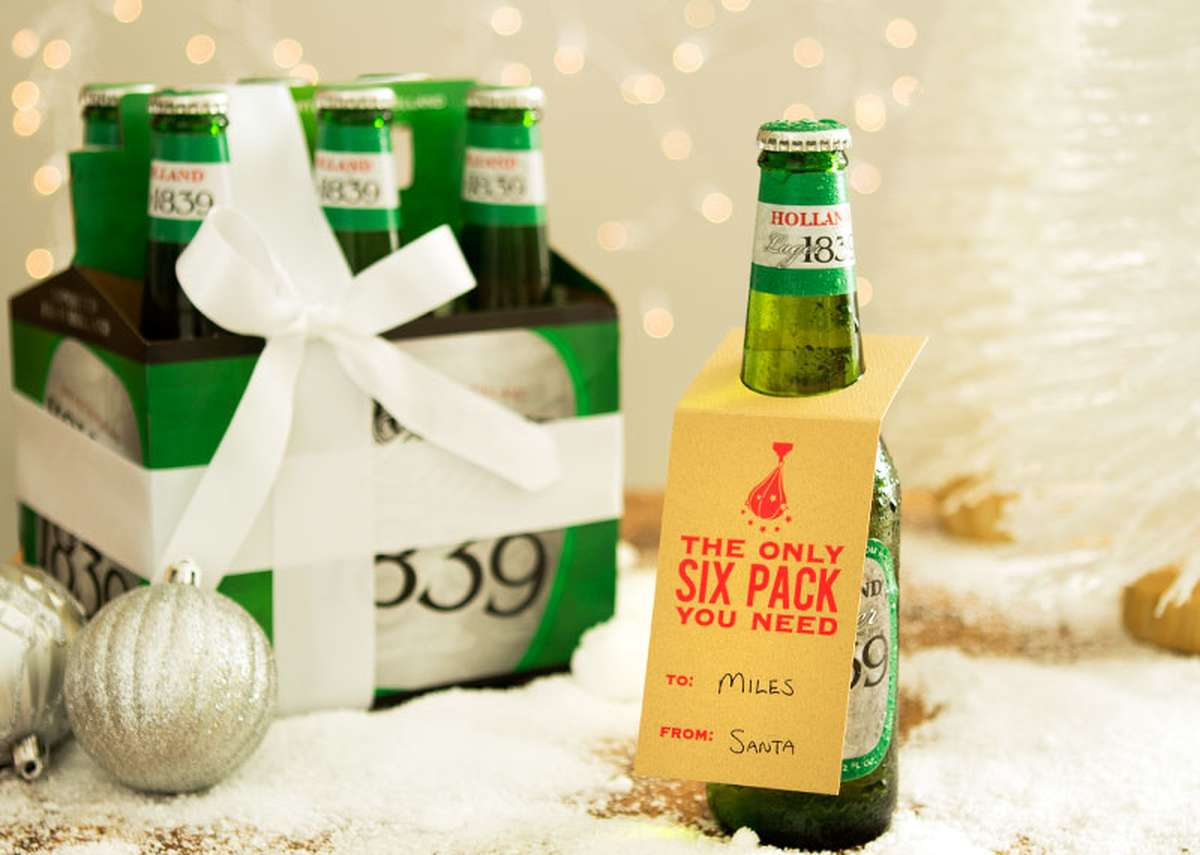 The Only Six Pack You Need beer christmas gift