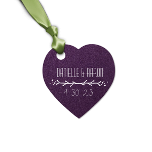 Our beautiful custom Natural Amethyst Oval Gift Tag with Matte White Foil has a Leaf Vine graphic and is good for use in Frames themed parties and will add that special attention to detail that cannot be overlooked.