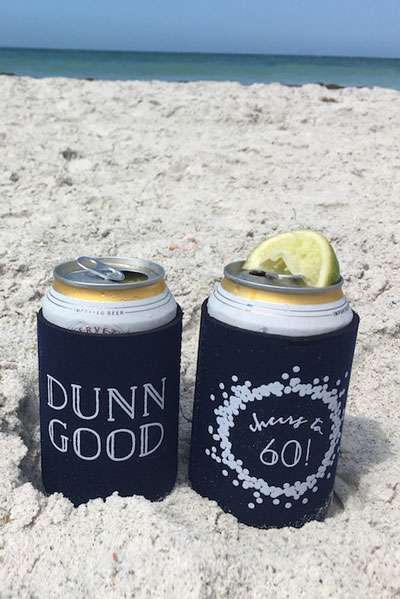custom can cooler koozie