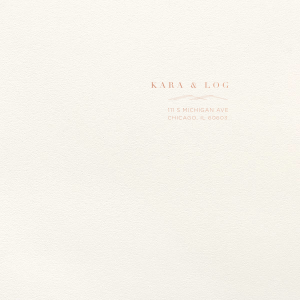 Our personalized Lettra Pearl White 110lb Invitation Envelope with Shiny Rose Gold Foil has a Mountain Flourish graphic and is good for use in Geometric, Outdoors themed parties and will give your party the personalized touch every host desires.