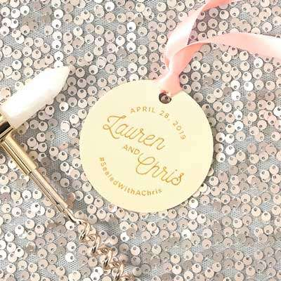 Large Round Gift Tag