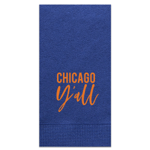 City Y'all Football Napkin