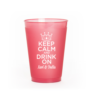 Keep Calm Crown Frost Flex Cup