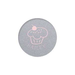 ForYourParty's elegant Classic Crest White Round Label with Matte Rouge Ink Digital Print Colors has a Cupcake graphic and is good for use in Food, Kid Birthday, Birthday themed parties and will look fabulous with your unique touch. Your guests will agree!