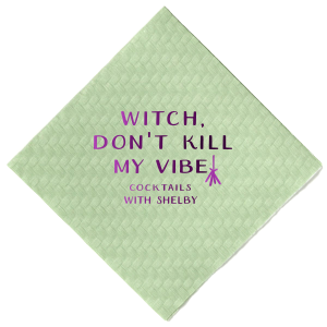Witch Broom Napkin