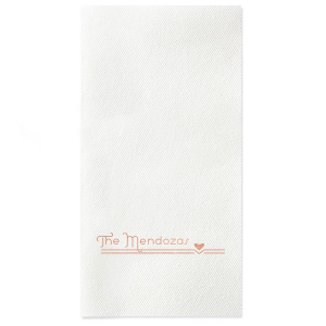 Our beautiful custom Merlot Linen Like Cocktail Napkin with Shiny Rose Gold Foil has a Heart Flourish graphic and is good for use in Hearts, Accents, Wedding themed parties and will add that special attention to detail that cannot be overlooked.