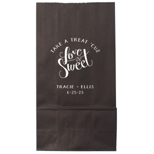 Love Is Sweet Treat Bag