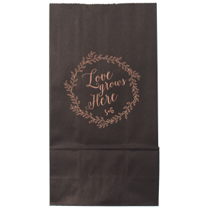 Love Grows Here Wedding Bag