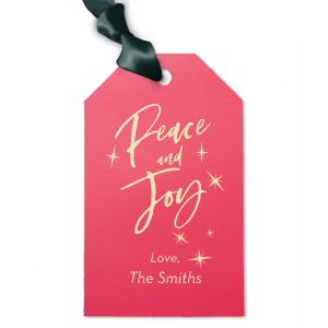 ForYourParty's personalized Shiny Fuchsia Luggage Gift Tag with Matte Ivory Foil has a Twilight graphic and is good for use in Stars, Delphine themed parties and will add that special attention to detail that cannot be overlooked.