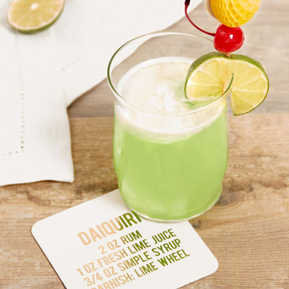 easy daiquiri cocktail recipe