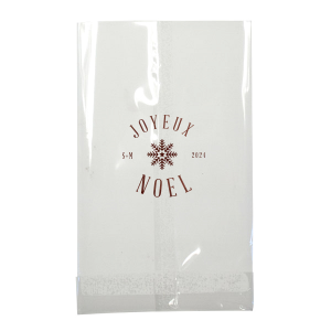 The ever-popular Shiny Merlot Small Cellophane Bag with Shiny Merlot Foil has a Snowflake 3 graphic and is good for use in Christmas themed parties and will make your guests swoon. Personalize your party's theme today.
