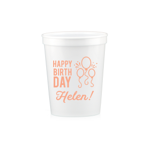 Birthday Balloon Stadium Cup