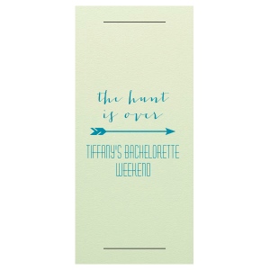 Our beautiful custom Poptone Peach Large Sparkler Sleeve with Shimmer 30 Strike with Satin Teal / Peacock Foil Color has a Arrow 1 graphic and is good for use in Accents themed parties and can't be beat. Showcase your style in every detail of your party's theme!