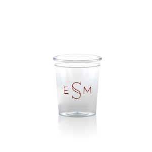 The ever-popular Matte Merlot Ink Plastic Shot Glass with Matte Merlot Ink Cup Ink Colors can't be beat. Showcase your style in every detail of your party's theme!