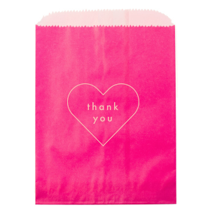 Martha Stewart Heart Thank You Bag
