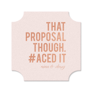 That Proposal Coaster