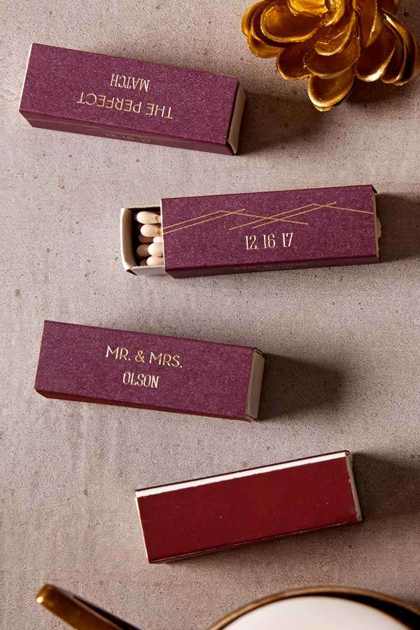 lipstick wedding matches
