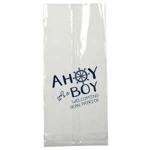 Ahoy It's A Boy Bag