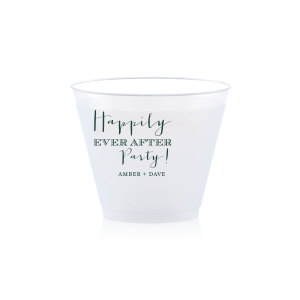 The ever-popular Matte Spruce 10 oz Frost Flex Cup with Matte Spruce Cup Ink Colors will give your party the personalized touch every host desires.
