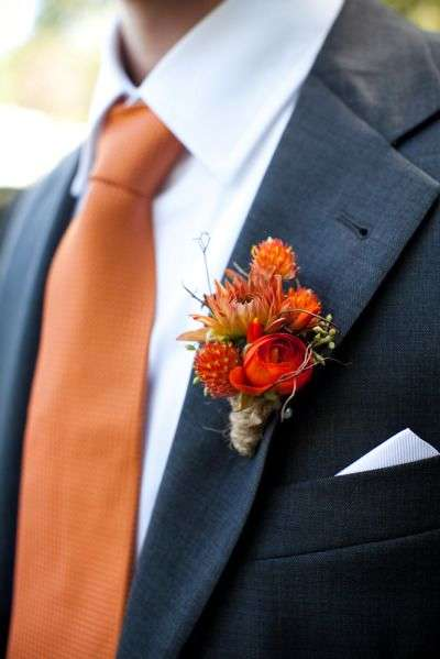 burnt orange fall grooms outfit