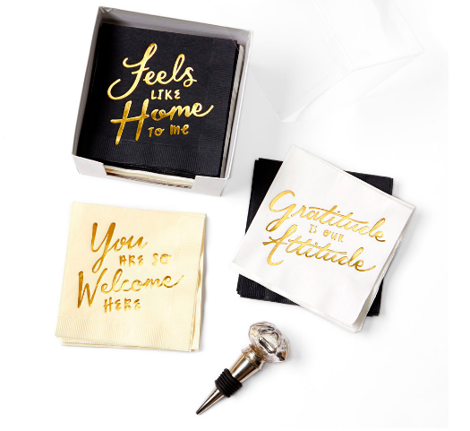 designer curated Inspirational wine gift set