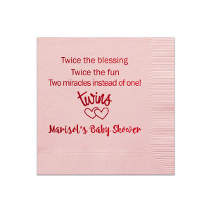 Twice The Blessing Napkin