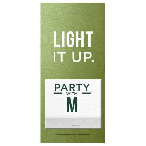ForYourParty's personalized Poptone Kiwi Large Sparkler Sleeve with Shimmer 30 Strike with Matte White Foil and Matte Key Lime Foil are a must-have for your next event—whatever the celebration!