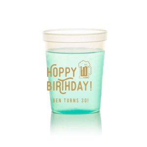 Hoppy Birthday Stadium Cup