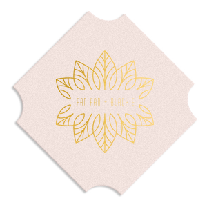 ForYourParty's personalized White Square Coaster with Shiny 18 Kt Gold Foil Color has a Merry Mandala graphic and is good for use in Frames themed parties and will make your guests swoon. Personalize your party's theme today.