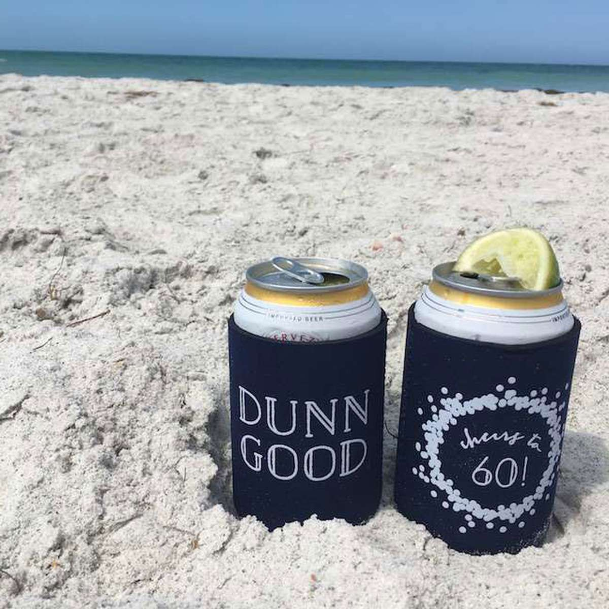 custom party flat can cooler