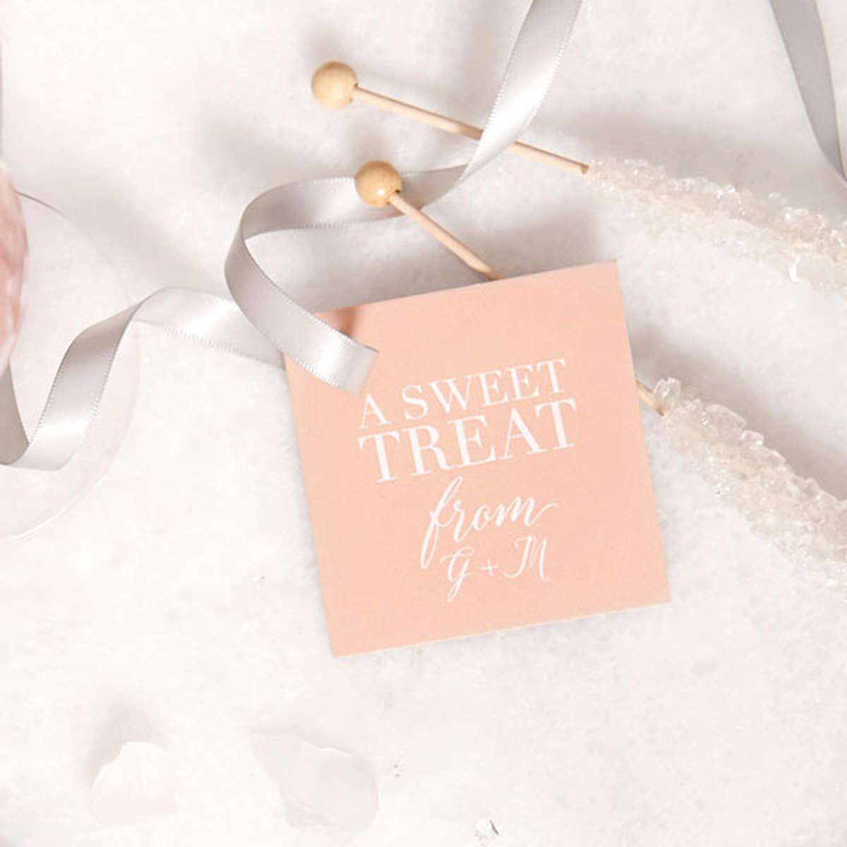 square gift tag