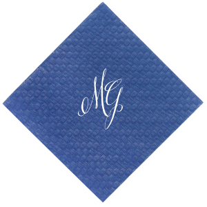 Fancy Initial Napkin