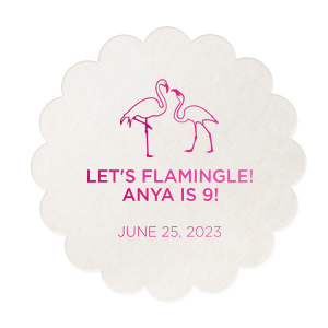 Let's Flamingle Coaster