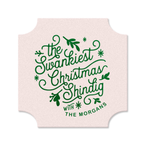 Christmas Shindig Coaster
