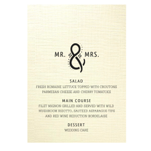 Ampersand Menu
