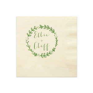 Leaf Wreath Napkin