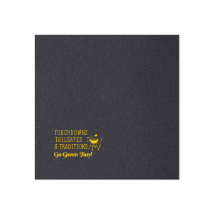 Our custom Moss Green Cocktail Napkin with Matte Spruce Foil has a Grill graphic and is good for use in Food, Home themed parties and couldn't be more perfect. It's time to show off your impeccable taste.