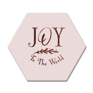 The ever-popular White Square Coaster with Shiny Merlot Foil has a North Star graphic and is good for use in Christmas, Stars themed parties and will add that special attention to detail that cannot be overlooked.