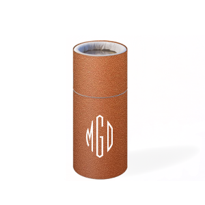 ForYourParty's chic Stardream Copper Barrel Matchbox with Matte White Foil will add that special attention to detail that cannot be overlooked.
