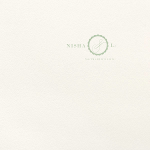 Our custom Lettra Pearl White 110lb Invitation Envelope with Shiny Green Tea Foil has a Scalloped Frame graphic and is good for use in Elegantly themed parties and will impress guests like no other. Make this party unforgettable.