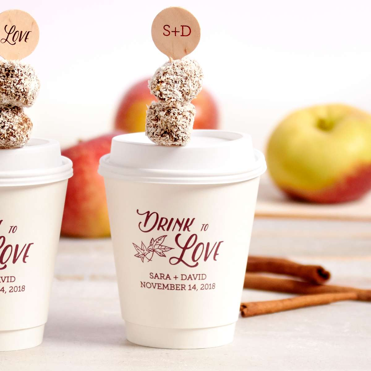 paper cups for wedding receptions